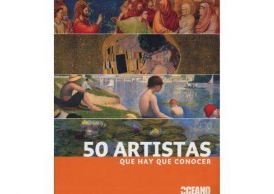50 artistas que hay que conocer